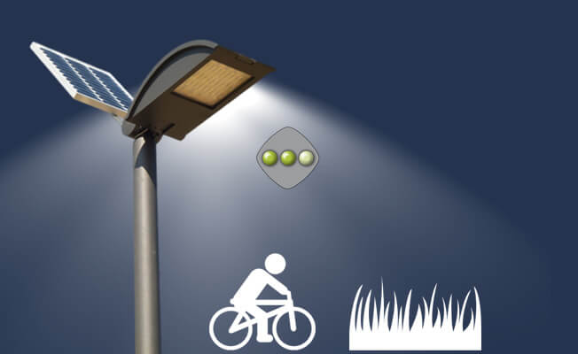 Lampioni solari lampioni fotovoltaici illuminazione solare